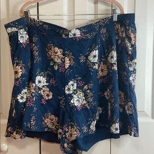 Torrid Floral Flowy Shorts